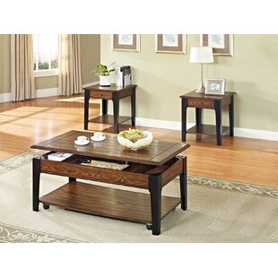 A&J Homes Studio Magus 2 Piece Coffee Table Set
