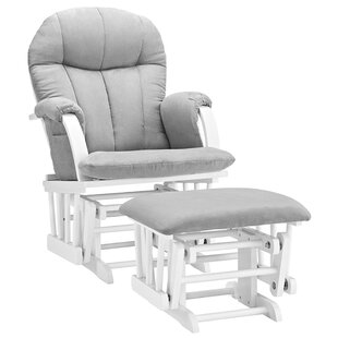 Ross Glider and Ottoman ByViv + Rae