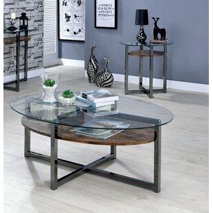 17 Stories Dex 2 Piece Coffee Table Set