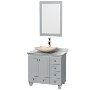 Acclaim 36 Single Bathroom Vanity Set with Mirror