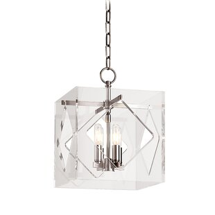 Rooker 4-Light Square/Rectangle Pendant by Willa Arlo Interiors