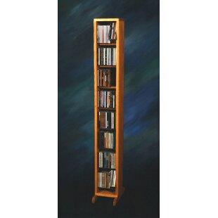 Wood Shed 800 Series 112 CD Dowel Multimedia Storage Rack