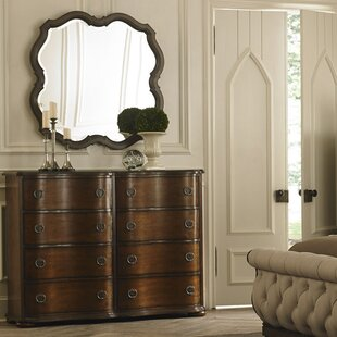 Elwood 8 Drawer Double Dresser with Mirror