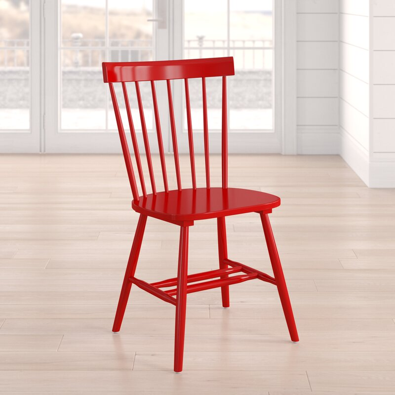 Beachcrest Home Royal Palm Beach Solid Wood Dining Chair & Reviews on