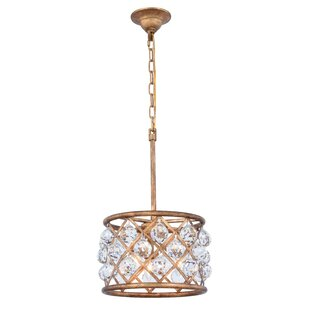 Mercer41 Morion 3-Light Pendant