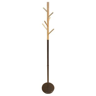 Evideco Standing Hall Tree Entryway Coat Rack