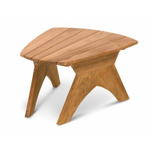 Ernie Teak Side Table by Highland Dunes Great Reviews
