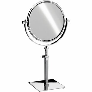 Best Everman Square Double-Sided Makeup/Shaving Mirror ByRed Barrel Studio