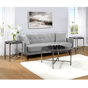 Mercer41 Davila 3 Piece Coffee Table Set
