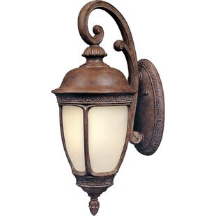 Reviews Spinnaker 1-Light Outdoor Wall Lantern By Darby Home Co