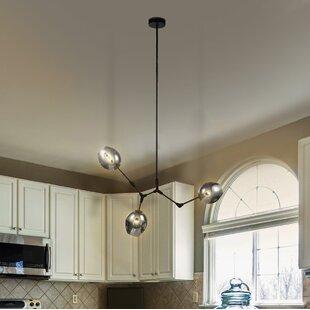 Ivy Bronx Austell 3-Light Sputnik Chandelier