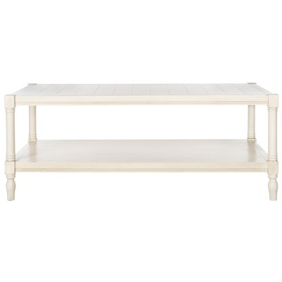 Belville Coffee Table Color: Off-White by Beachcrest Home