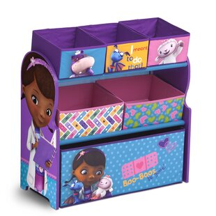 Doc McStuffins Multi Bin Storage Organizer By Delta Children