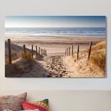 Path to Ocean - Wrapped Canvas Photograph Print by Highland Dunes