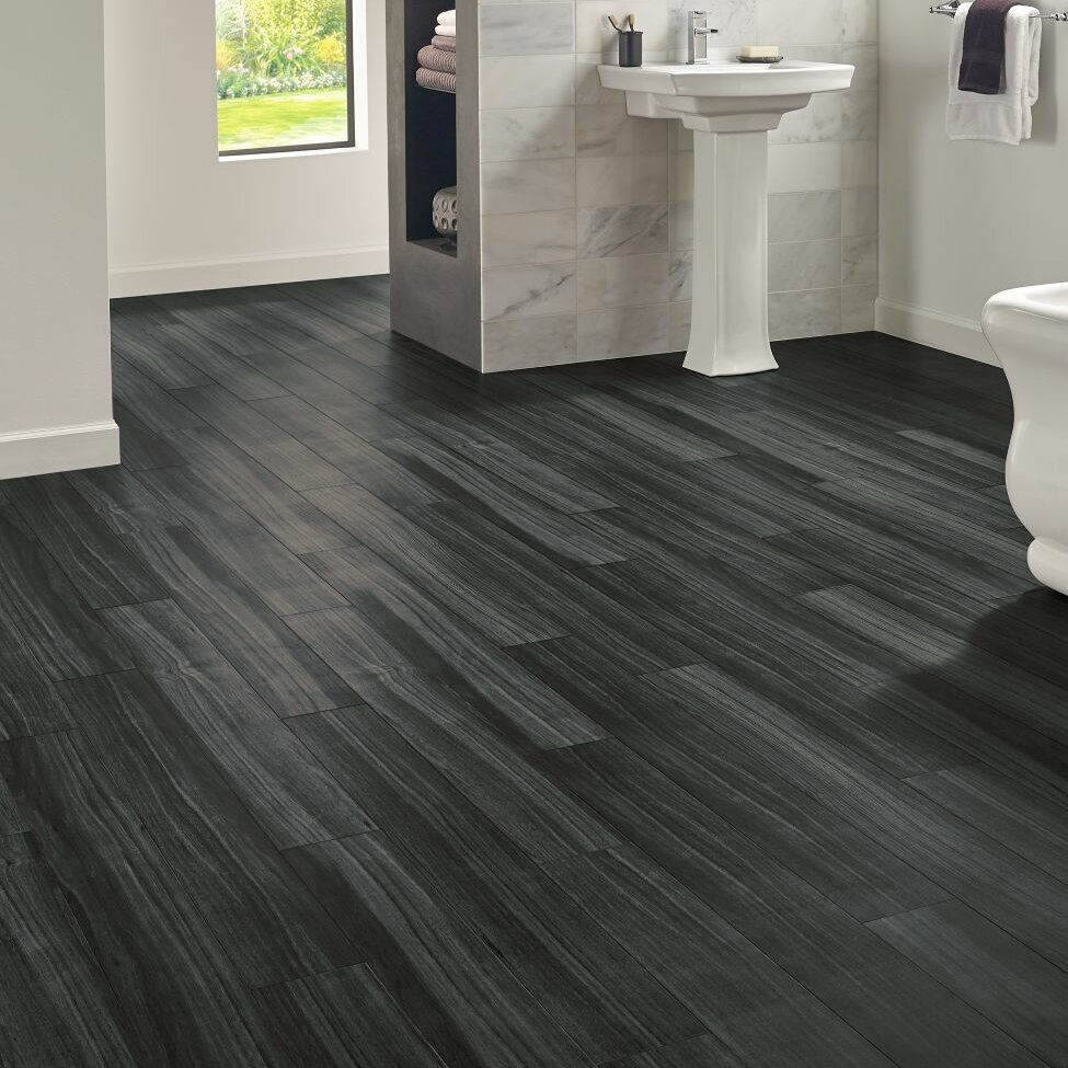 Armstrong Flooring Luxe Rigid Core Empire 6 X 48 X 7 9mm Sapele
