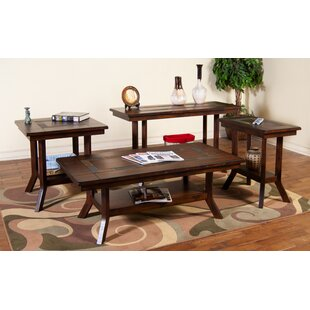 Loon Peak Fresno 4 Piece Coffee Table Set