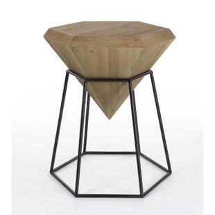 Davidson Diamond Shaped End Table