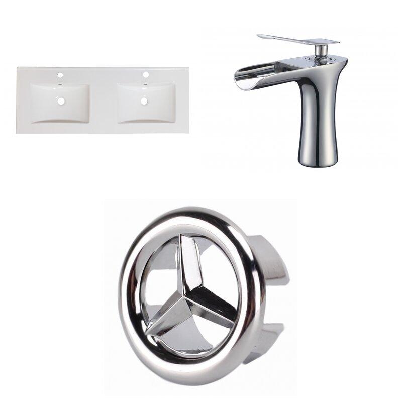 Wrought Studio Anirudh 48 Double Bathroom Vanity Top Wayfair
