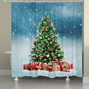 Savings Snowy Tree Shower Curtain By The Holiday Aisle