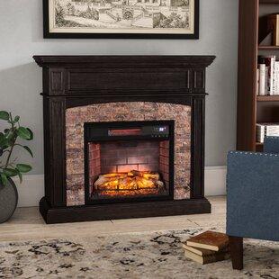 Contreras Ebony Electric Fireplace By Belfry Heating