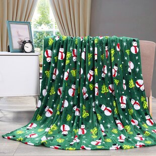 adcock christmas fleece throw - Christmas Fleece