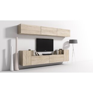 Galilee Entertainment Unit For TVs Up To 55