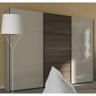 Blocco 3 Door Sliding Wardrobe By Ebern Designs