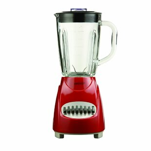 Brentwood Appliances 12 Speed Blender with Glass Jar