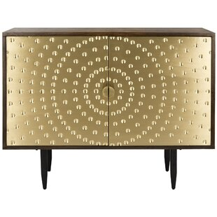 Rina Brass Sideboard Everly Quinn