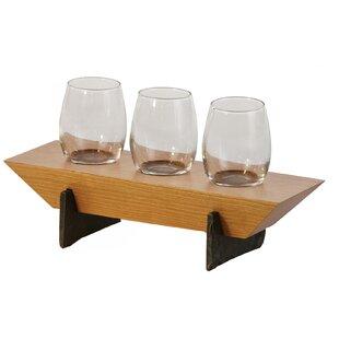 Red Barrel Studio Lenhardt 4 Piece Tabletop Wine Glass Rack