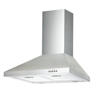30 Ancona Pyramid Series 400 CFM Convertible Wall Mount Range Hood