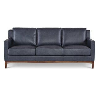 Navy Blue Leather Loveseat Wayfair