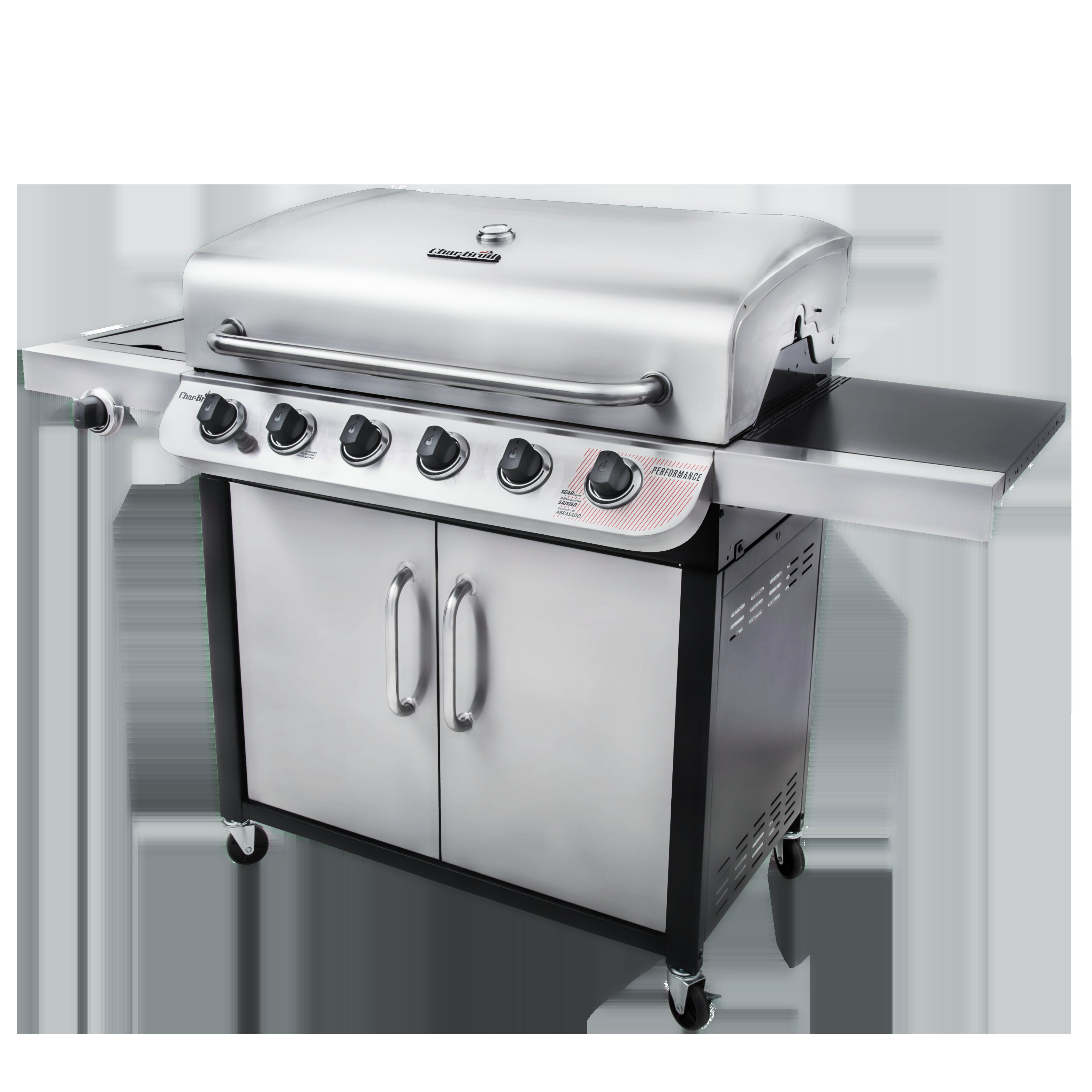 Charbroil Char Broil Performance Series 6 Burner Propane Gas Grill With Cabinet Reviews Wayfair