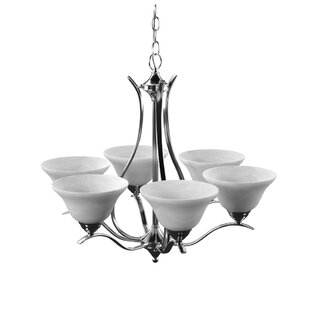 Corwin 6-Light Shaded Chandelier by Andover Mills