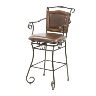 Mandell 29 Swivel Bar Stool DarHome Co