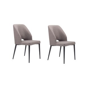 Drolet Upholstered Dining Chair (Set of 2)