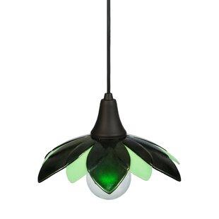 Meyda Tiffany Greenbriar Oak 1-Light Novelty Pendant
