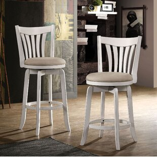 Uribe Swivel Bar Stool August Grove