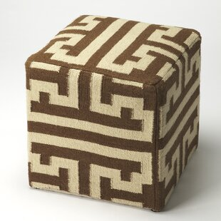 Westmanland Labyrinth Pouf by Loon Peak