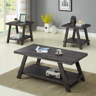 Filipek 3 Piece Coffee Table Set (Set of 3)