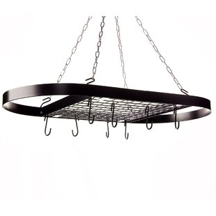 Classicor Wrought-Iron Hanging Oval Pot Rack