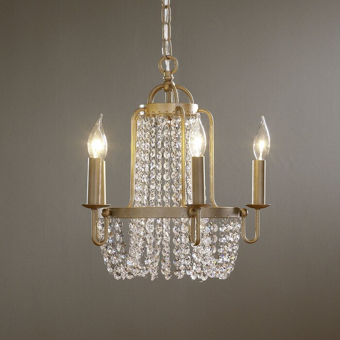 Ludlow 5 light crystal chandelier