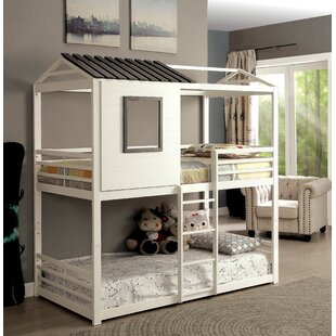 Odum Novelty House Twin Bunk Bed