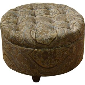 Swigert Round Storage Ottoman by Three..