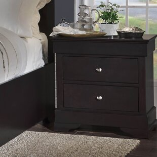 Alcott Hill McLelland 2 Drawer Nightstand