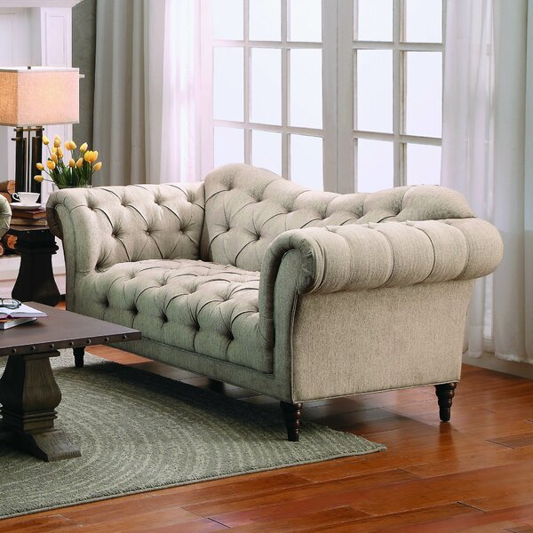 Kelly Clarkson Home Dominic 69 25 Rolled Arm Loveseat Reviews Wayfair