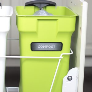 6 gal stationary composter