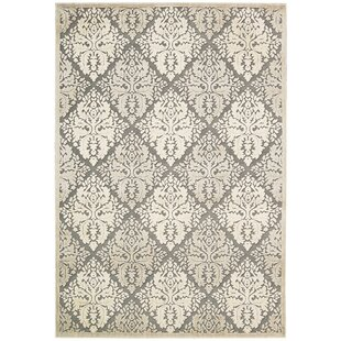 Talanna White Geometric Area Rug by Ophelia & Co.