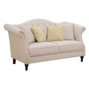 Shop Bartsch Loveseat by Darby Home Co