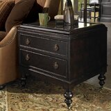Kingstown Nelson End Table with Storage by Tommy Bahama Home
